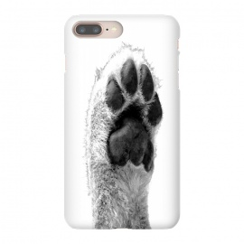 Black and White Dog Paw by Alemi