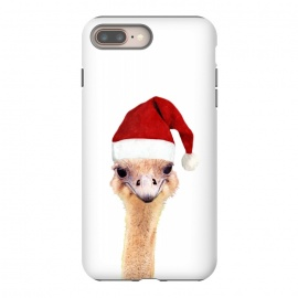 Ostrich Christmas by Alemi