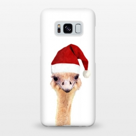 Galaxy S8+  Ostrich Christmas by Alemi
