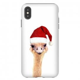 iPhone Xs Max  Ostrich Christmas by Alemi