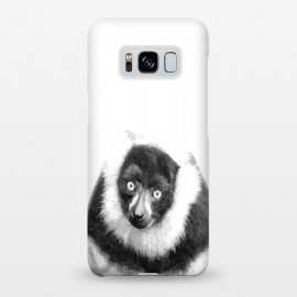 Black and White Lemur by Alemi