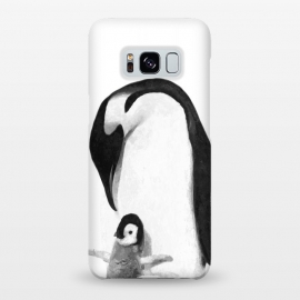 Galaxy S8+  Black and White Penguins by Alemi