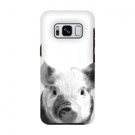 Black and White Pig by Alemi