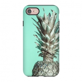 iPhone 8/7  Silver Pineapple by Carlos Maciel