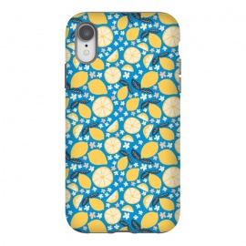 iPhone Xr  Summer Lemons by Sarah Price Designs