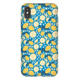 iPhone Xs Max  Summer Lemons by Sarah Price Designs