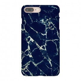 Dark navy marble by Oana