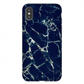 iPhone Xs Max  Dark navy marble by Oana
