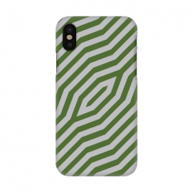 iPhone X  Symmetric diagonal stripes background by Bledi