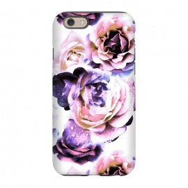 iPhone 6/6s  Pink purple rose petals by Oana