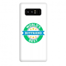 Galaxy Note 8  World's Best Boyfriend by Dhruv Narelia