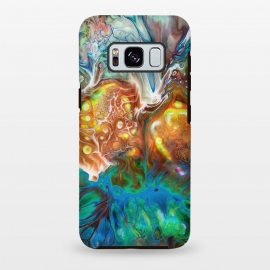 Galaxy S8+  Abstract Crossfire by Creativeaxle