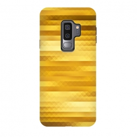 Galaxy S9 plus  Gold Color Pattern by
