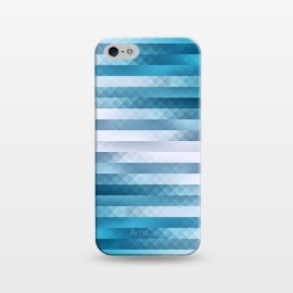 iPhone 5/5E/5s  Blue Color Pattern by
