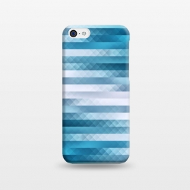iPhone 5C  Blue Color Pattern by Art Design Works