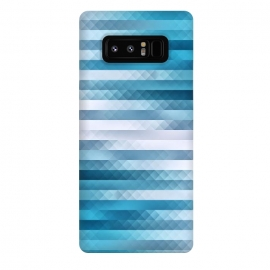 Galaxy Note 8  Blue Color Pattern by