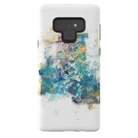 Galaxy Note 9  City Tide - Abstract Painting II by