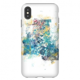 iPhone Xs Max  City Tide - Abstract Painting II by Art Design Works (City Tide - Abstract Painting II,Painting,Digital,Acrylic,Oil,Abstract,Artwork,Texture,Detail,Nature,Paint,Traditional,Coastal,Home,Decor,Colors,Blue,Yellow,White,Black,Brush,arts,cases,phone,case,abstract,color,colors,iphone,samsung,gift,design,unique,modern,style,fresh,vivid,cool,print,art,tmarche)