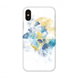 iPhone X  Mystic Horizon - Abstract Painting VI by Art Design Works