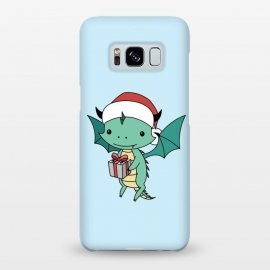 Galaxy S8+  Christmas dragon by Laura Nagel