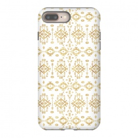 Luxury gold geometric tribal Aztec pattern by InovArts