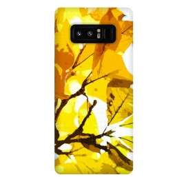 Galaxy Note 8  Autumn colors, leaves #oil #on #canvas by Bledi