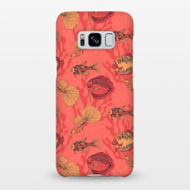 Galaxy S8+  Fishes on living coral background by Katerina Kirilova