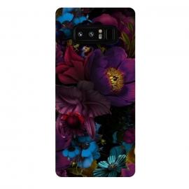 Galaxy Note 8  Mystical Flower Night by