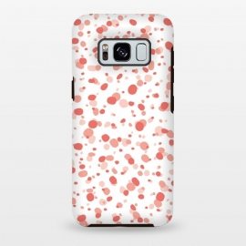 Galaxy S8 plus  Living Coral Dots by