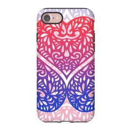 iPhone 8/7  Gradient lace hearts by Oana
