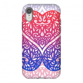 iPhone Xr  Gradient lace hearts by