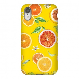 iPhone Xr  Orange slices #pattern #trendy #style by Bledi