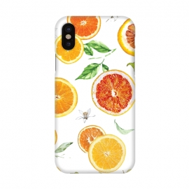 iPhone X  Orange slices 2 #pattern #trendy #style by Bledi