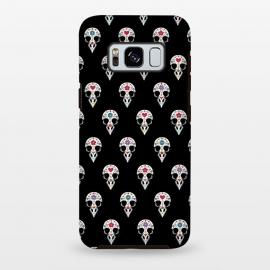 Galaxy S8 plus  Bird sugar skull pattern by