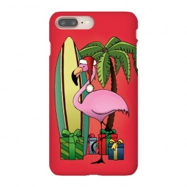 iPhone 8/7 plus  Xmas Flamingo by