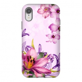 iPhone Xr  Floral Smile by Creativeaxle