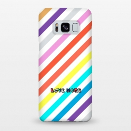 Galaxy S8+  Rainbow Stripes by Michael Cheung