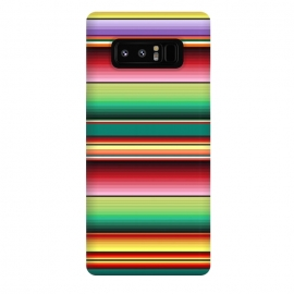 Galaxy Note 8  Mexican Fabric Texture Colors Textile by BluedarkArt