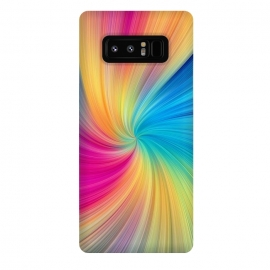 Galaxy Note 8  Rainbow Abstract Design by Art Design Works