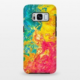 Galaxy S8 plus  Rainbow Abstract Painting I by