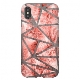 iPhone Xs Max  Geometric XXXV - I by Art Design Works (Geometric XXXV - I,Graphic design,Digital,Acrylic,Style,Rose gold,Texture,Living coral,Paint,Splatter,Geometry,Design,Abstract,Color,Decorative-pattern,Trending,Luxury,Geometric,Black,Subtle,Modern  arts,cases,phone,case,abstract,color,colors,iphone,samsung,gift,design,unique,modern,style,fresh,vivi)