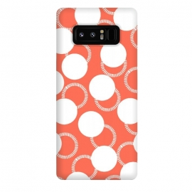 Galaxy Note 8  Feminine with Polka Dots 2 by Michael Cheung