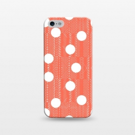 iPhone 5/5E/5s  Feminine with Polka Dots 3 by