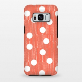 Galaxy S8 plus  Feminine with Polka Dots 3 by