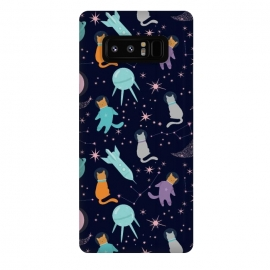 Galaxy Note 8  Cats in space by Utart