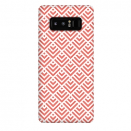 Galaxy Note 8  Living Coral Pattern I by Art Design Works