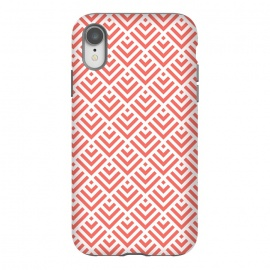 iPhone Xr  Living Coral Pattern I by Art Design Works