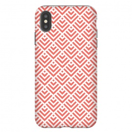 iPhone Xs Max  Living Coral Pattern I by Art Design Works