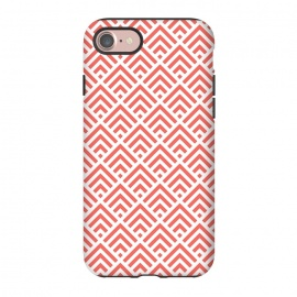iPhone 8/7  Living Coral Pattern II by Art Design Works