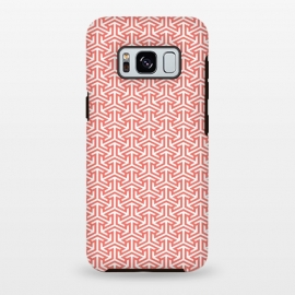 Galaxy S8 plus  Living Coral Pattern III by